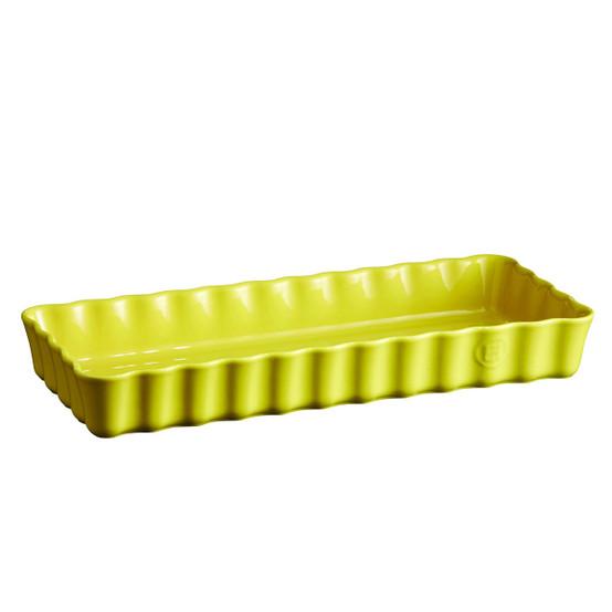 Slim Tart Dish in Provence Yellow