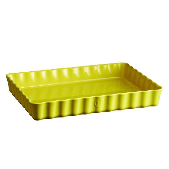 Deep Tart Dish in Provence Yellow