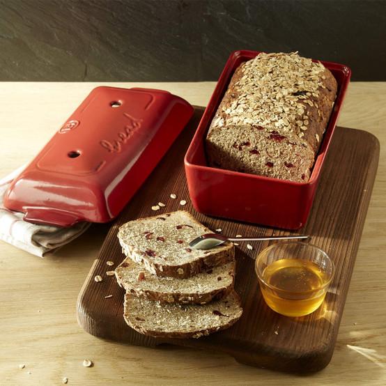 Bread Loaf Baker in Burgundy