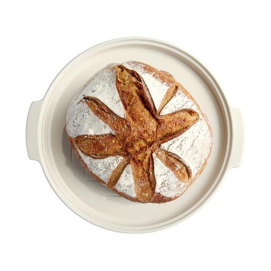 Modern Bread Cloche in Linen