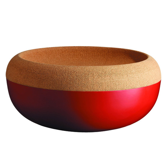 Storage Bowl in Burgundy