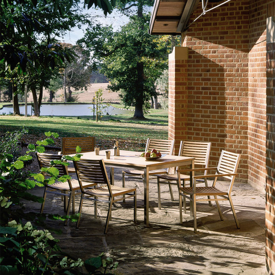 Equinox Rectangular Dining Table 59 x 39