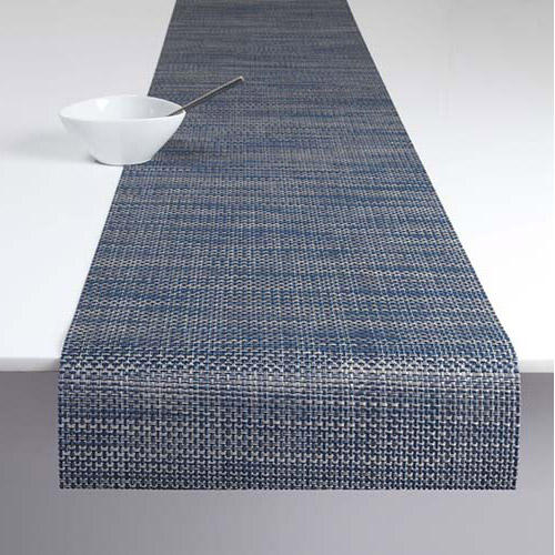 Basketweave Table Runner 14x72. Chilewich