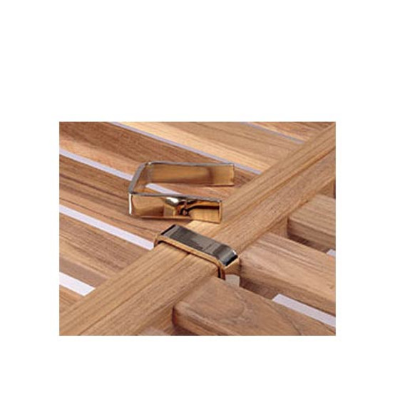 Capri Base Brass Frame Clips