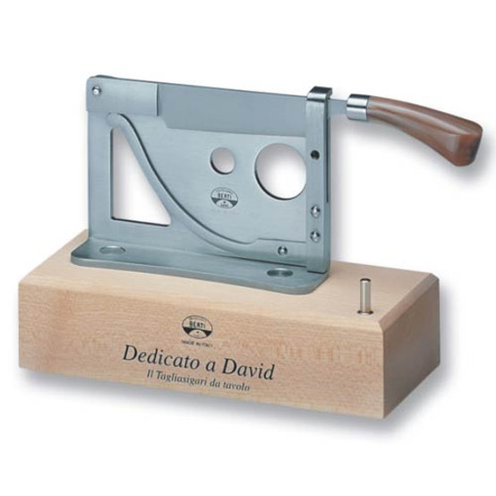 Cigar Cutter With Wood Base