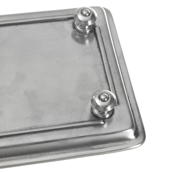 Footed guest towel Tray