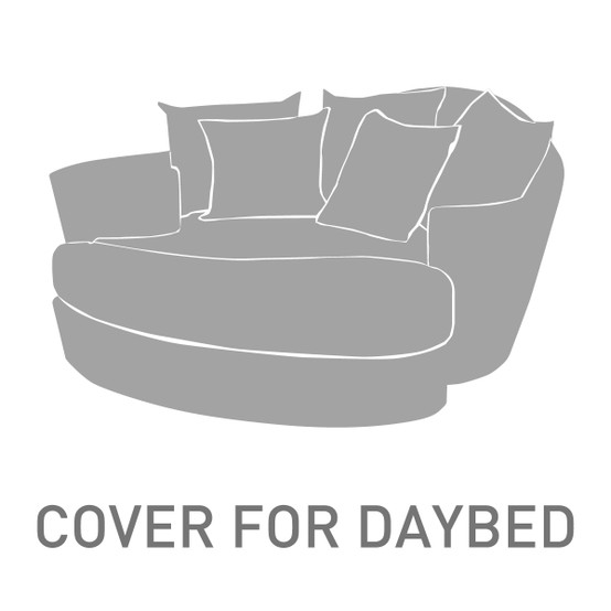 Dune Daybed & Ottoman Cover