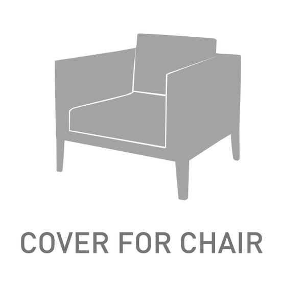 High Back Deep Seating Armchair Cover