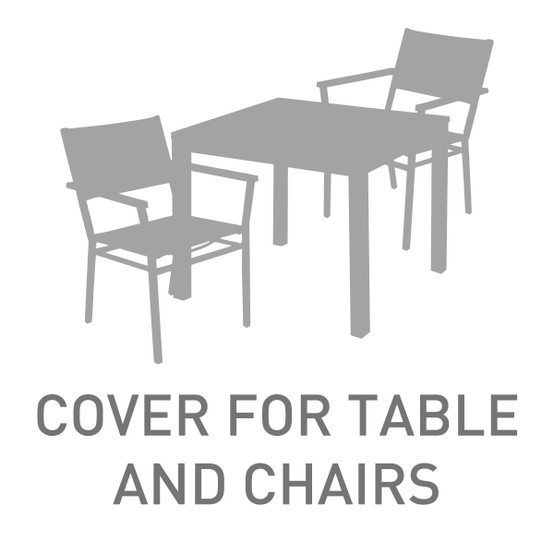 39 in. to 48 in. Table and 4 Chairs Cover