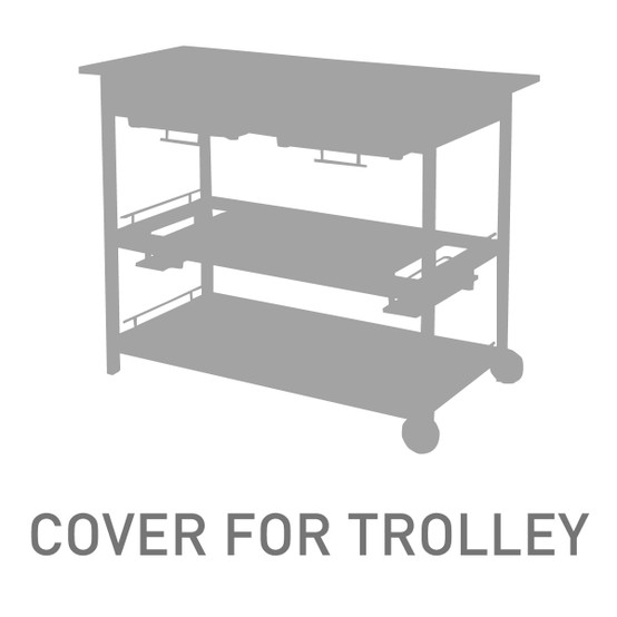 Serving Table And Trolley Cover