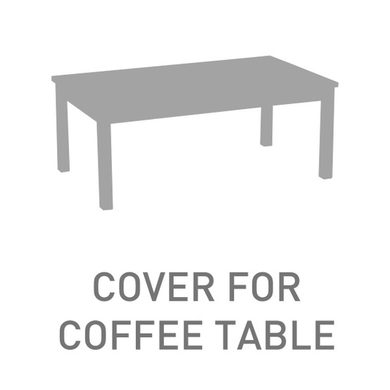 Large Rectangular Coffee Table Cover