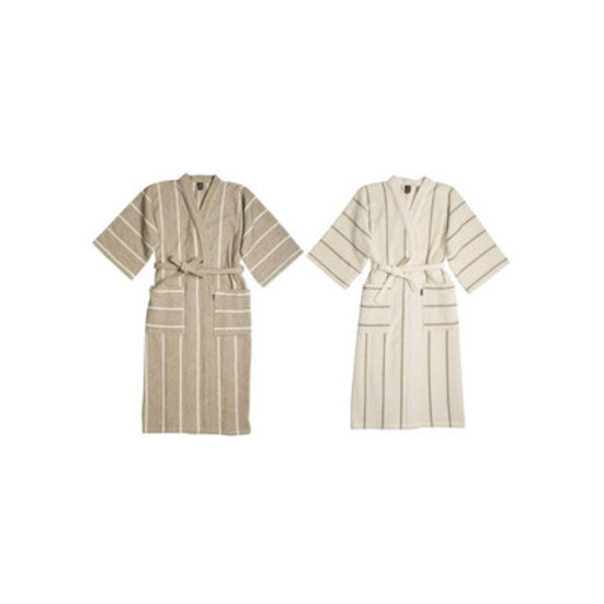 Liituraita Linen Bath Robe