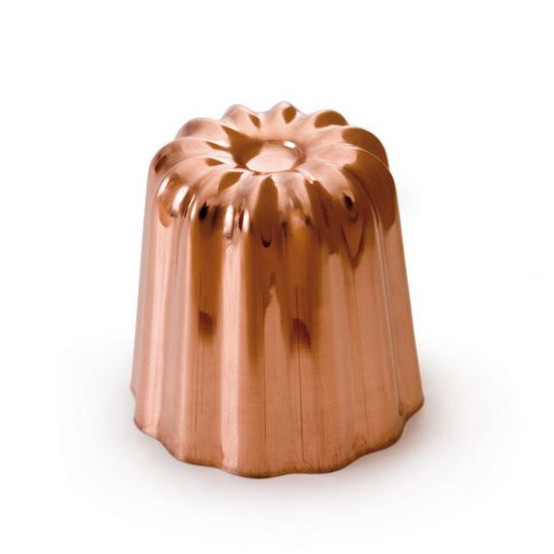 Passion Copper Tinned Canele Mold