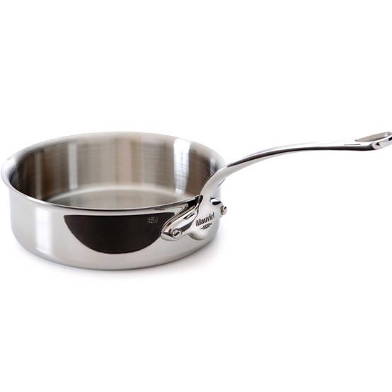 MCook Stainless Steel Saute Pan, stainless steel handle