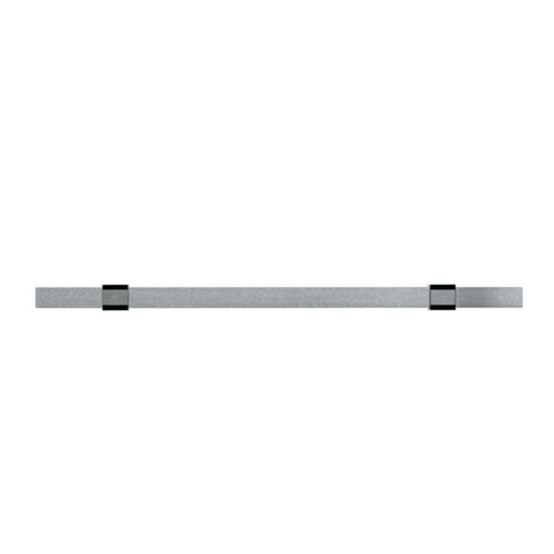Standard Rail with wall Attachment