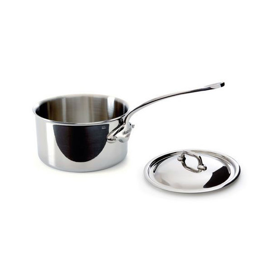 M'cook Cast Stainless Steel saucepan 1.9 qt with lid