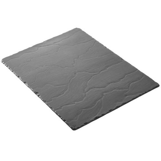 Basalt Large Rectangular Slate Tray