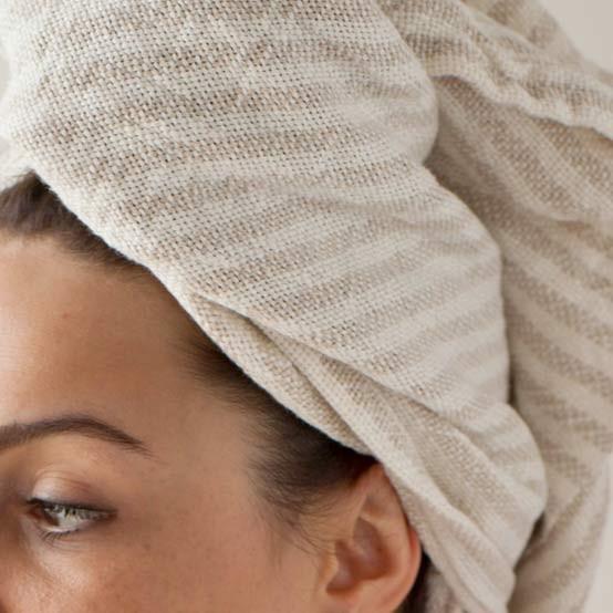 Linen Head Towel