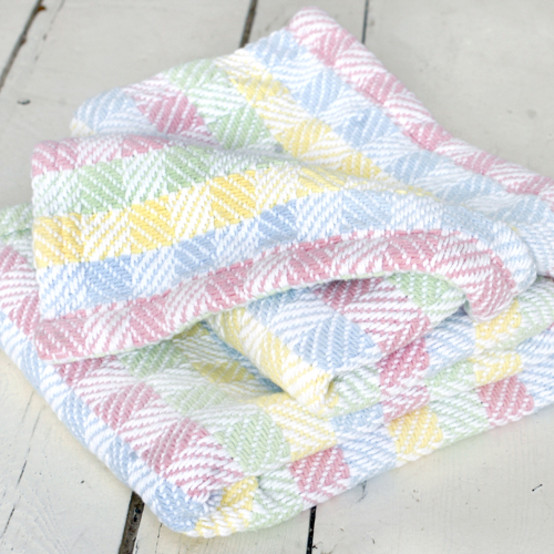 Tourmaline Cotton Baby Blanket