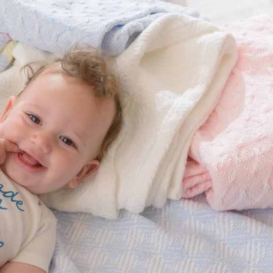 Sandpiper Cotton Baby Blanket