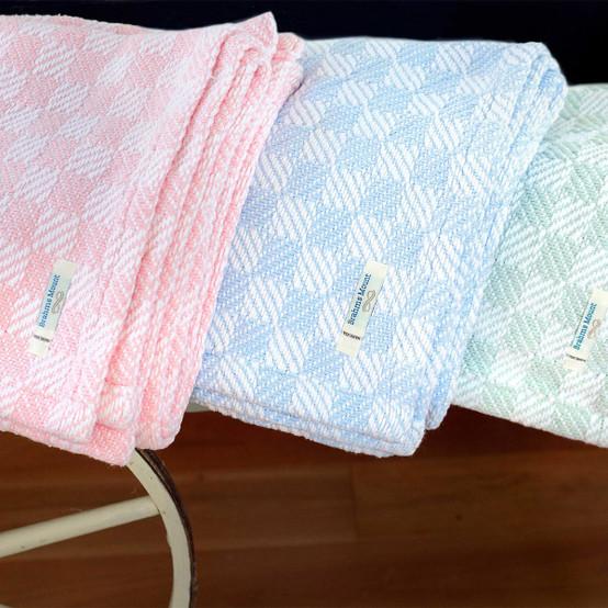 Pogonia Cotton Baby Blanket