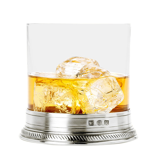 luisa double old fashioned glass, crystal