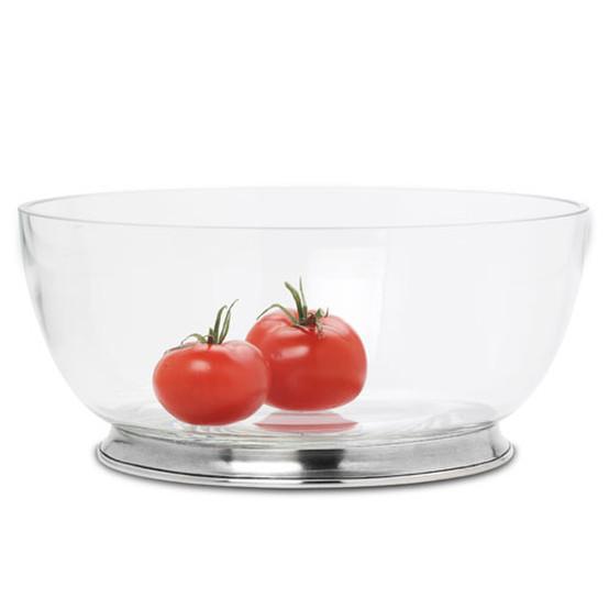 Large Round Crystal Bowl