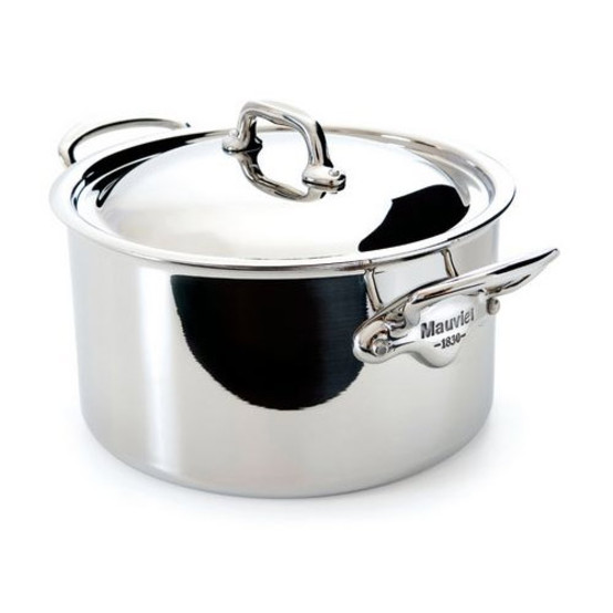 M'cook Stainless Steel Sauce Pan With Lid, stainless steel handle