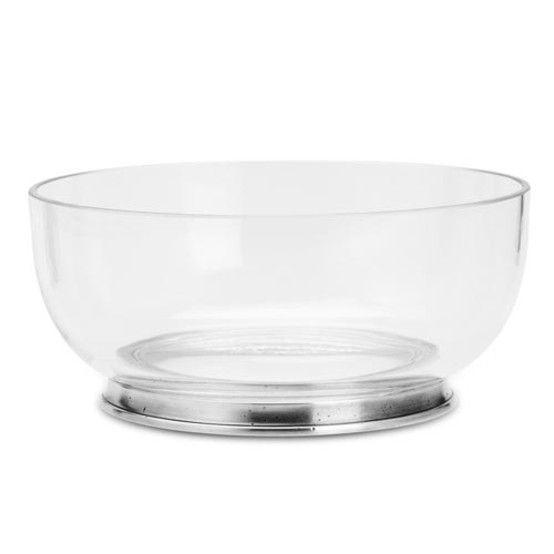 Medium Round Crystal Bowl