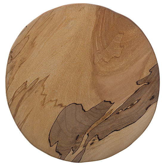 Spalted Maple Board Round 9 to 10in