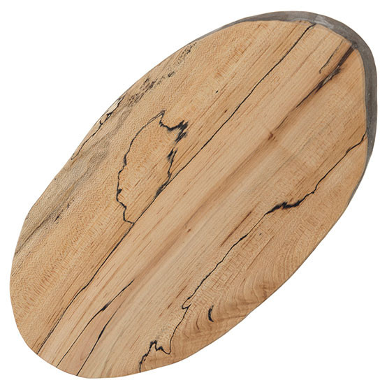 Medium Spalted Oval Board 15in