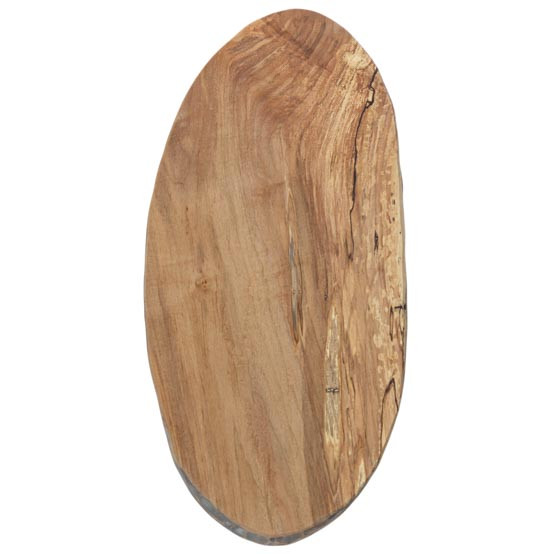 Spalted Oval Board 21in