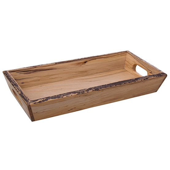 Spalted Maple Bread Tray 9x20in