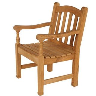 Awe Inspiring Waveney Teak Armchair Barlow Tyrie Theyellowbook Wood Chair Design Ideas Theyellowbookinfo