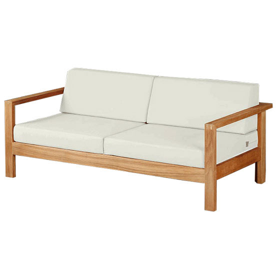 Linear Deep Seating for Two with Cushion