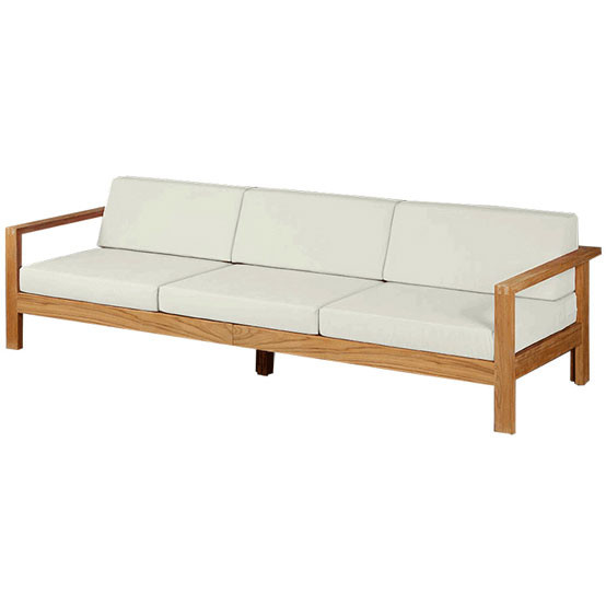 Linear Deep Seating for Three with Cushion
