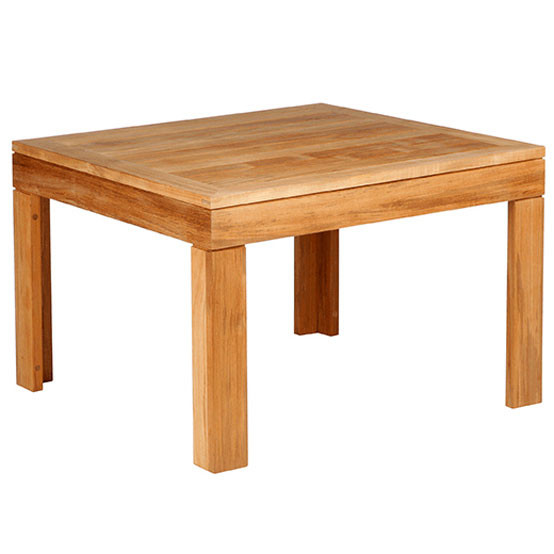 Linear 30 Inches Square Side Table