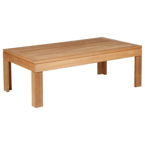 Linear 4 feet Rectangular Low Coffee Table