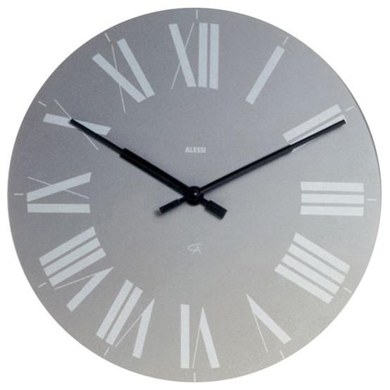 Firenze Wall Clock in Grey