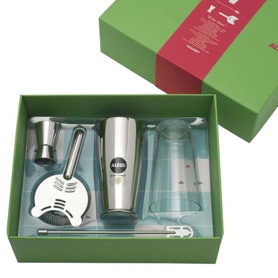 Ettore Sotsass Gift Box Boston Shaker Set