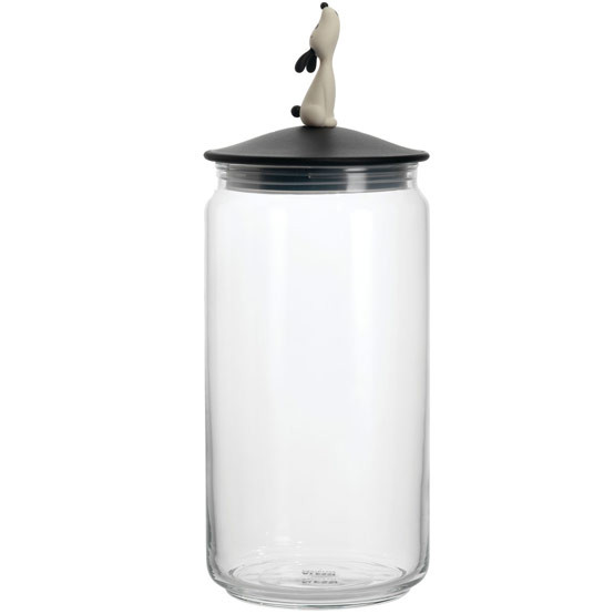 Lula Jar Container in Black