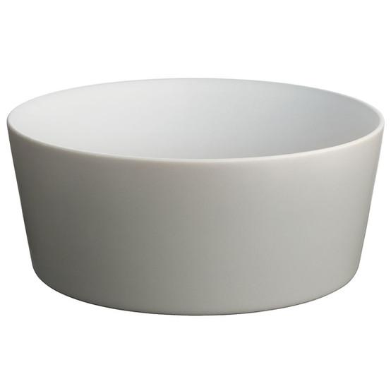 Tonale Salad Bowl in Light Grey