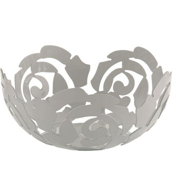 La Rosa Fruit Bowl Medium in White