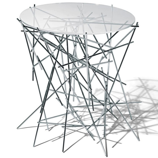 Blow Up Table Stainless