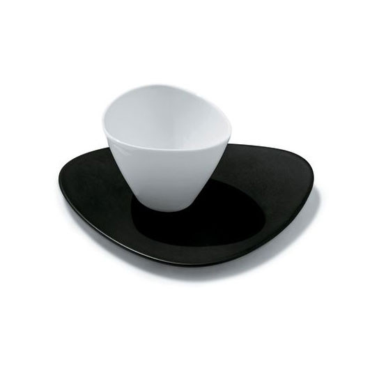 Colombina Saucer For Mocha Cup in Black