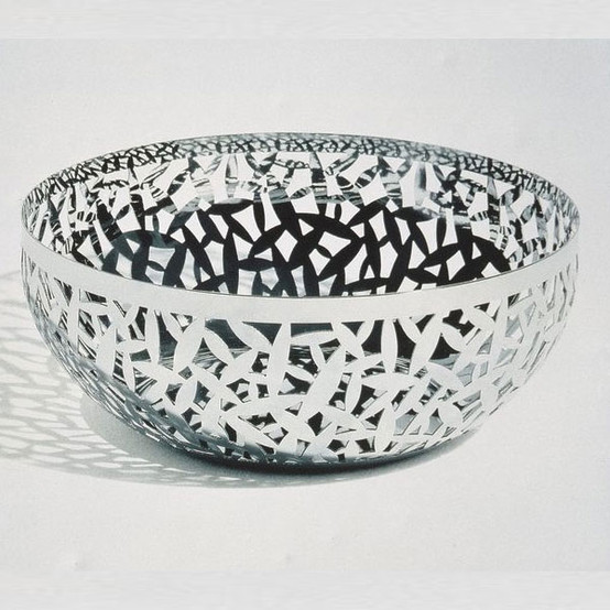 """Cactus! 11.5"""" Fruit Bowl in Stainless"""