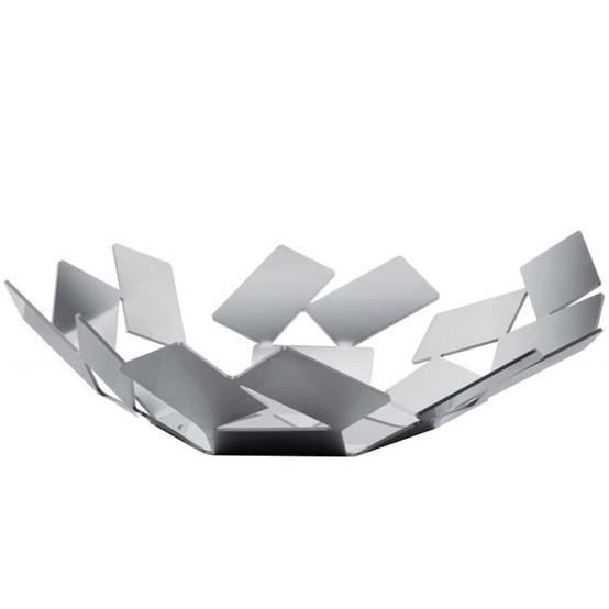 La Stanza Dello Scirocco Basket in Silver