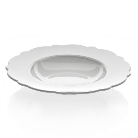Dressed Soup Plate