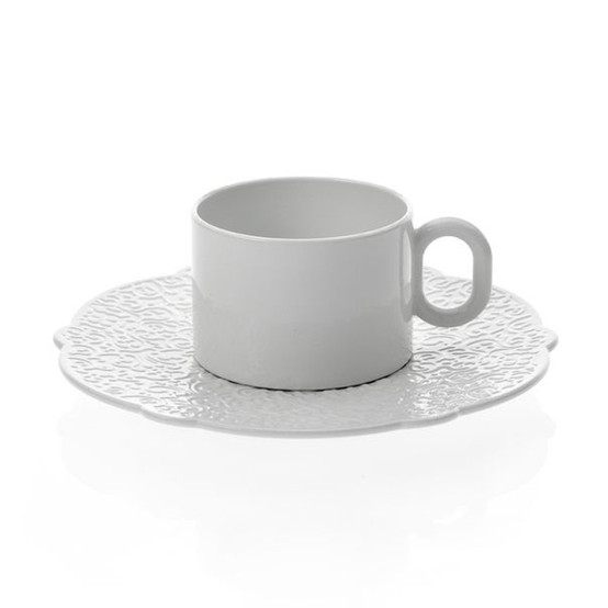 Dressed Saucer For Teacup