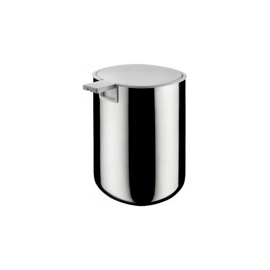 Birillo Liquid Soap Dispenser in Silver
